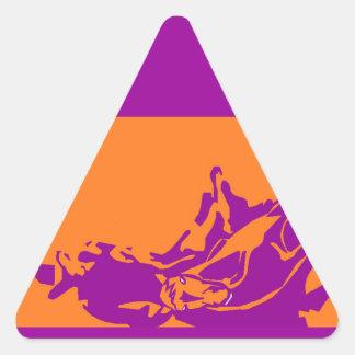 ステッカーの西部の性能の在庫の切断の馬 三角形シール