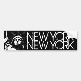 ステッカーニューヨークのバンパーステッカーの自由の女神 バンパーステッカー