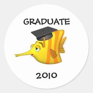 ステッカー卒業生2009年 ラウンドシール