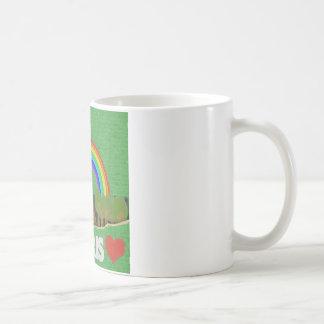 ステッチのエッフェル塔 コーヒーマグカップ