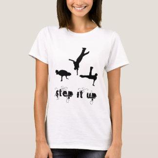 ステップそれ上りのダンスのワイシャツ Tシャツ