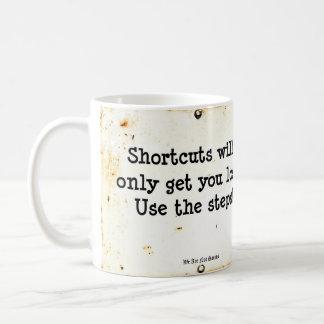 ステップを使用して下さい コーヒーマグカップ