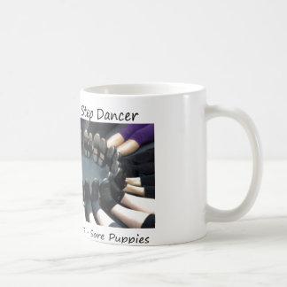 ステップダンスの円の足-マグ コーヒーマグカップ