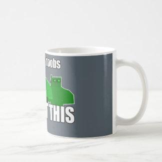 ステップ背部Noobs私達はこの裏返されなかった商品を得ました コーヒーマグカップ