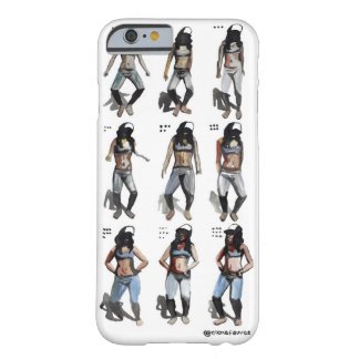 ステップ電話箱 BARELY THERE iPhone 6 ケース