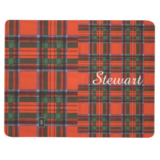 ステュワートの一族の格子縞のスコットランド人のタータンチェック ポケットジャーナル