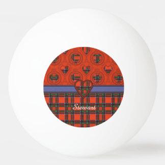 ステュワートの一族の格子縞のスコットランド人のタータンチェック 卓球ボール
