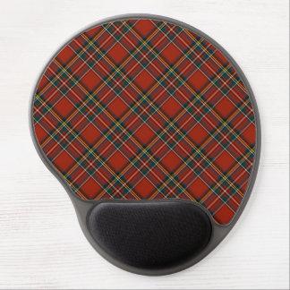 ステュワートの王室のなクラシックで赤いスコットランドのタータンチェック ジェルマウスパッド