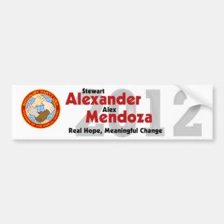 ステュワートアレキサンダー2012のバンパーステッカー#4 バンパーステッカー