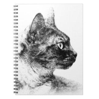 ステラ灰色猫 ノートブック