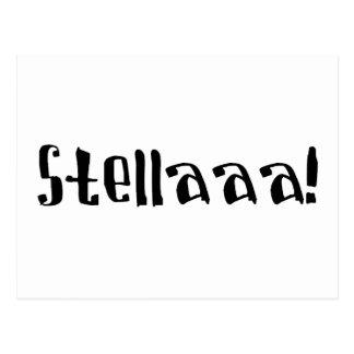 ステラ ポストカード