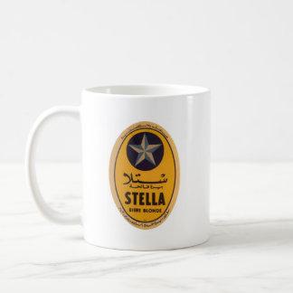 ステラBiereブロンドビールラベル コーヒーマグカップ