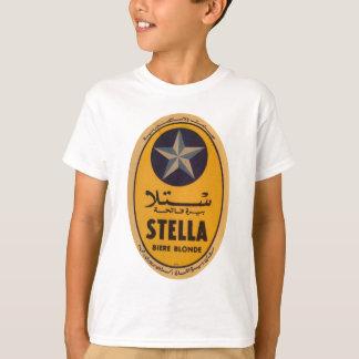 ステラBiereブロンドビールラベル Tシャツ