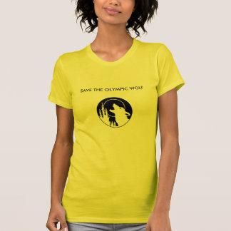 ステンシルオオカミ Tシャツ