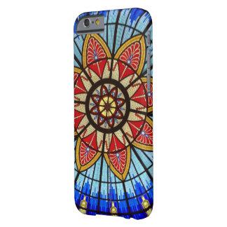 ステンドグラスのアールヌーボーの抽象芸術 BARELY THERE iPhone 6 ケース