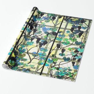 ステンドグラスのデマの包装紙 ラッピングペーパー