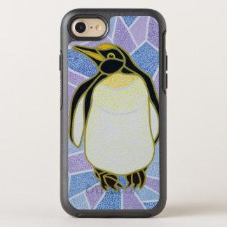 ステンドグラスのペンギン オッターボックスシンメトリーiPhone 8/7 ケース