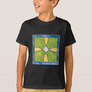 ステンドグラスの十字 Tシャツ