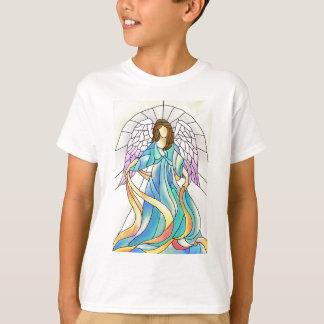 ステンドグラスの天使 Tシャツ