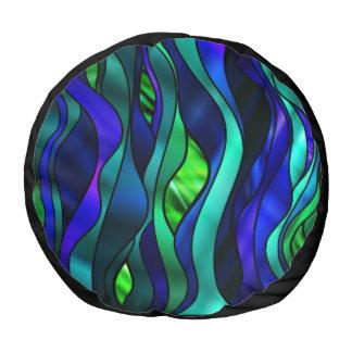 ステンドグラスの抽象芸術 プーフ