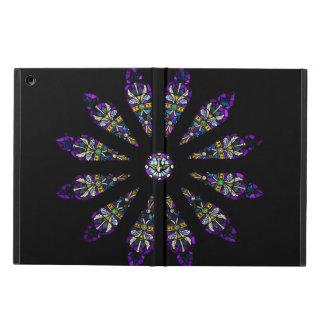 ステンドグラスの曼荼羅のiPadの空気箱 iPad Airケース