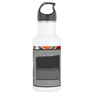 ステンドグラスの灰色箱 ウォーターボトル