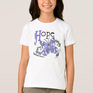 ステンドグラスの蝶胃癌 Tシャツ
