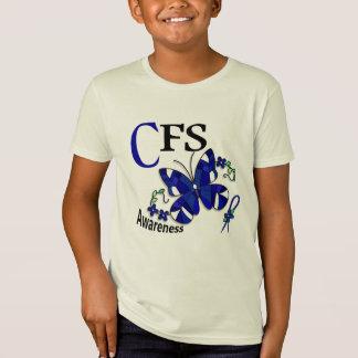 ステンドグラスの蝶2 CFS Tシャツ