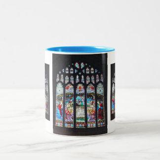 ステンドグラス窓の出生 ツートーンマグカップ