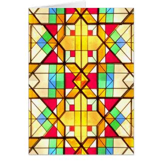ステンドグラス窓2 カード
