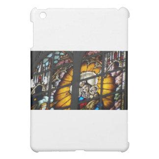 ステンドグラス聖母マリアおよびイエス・キリスト iPad MINI CASE