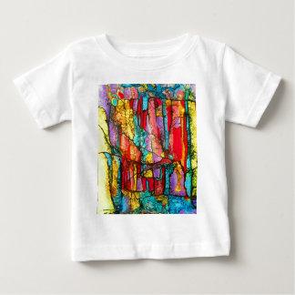 ステンドグラス ベビーTシャツ
