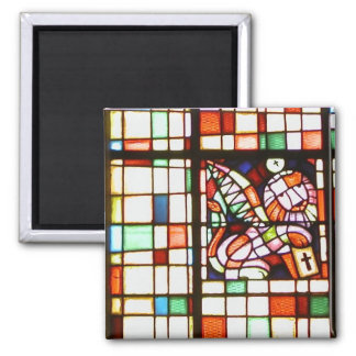ステンドグラス、福音の作家4aの記号 マグネット