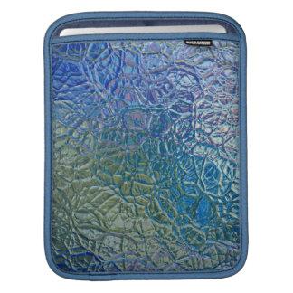 ステンドグラス、透明で多彩な光沢がある窓 iPadスリーブ