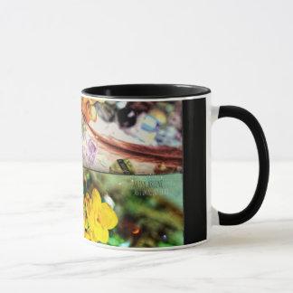 「ステンドグラス」11のoz。 マグlk マグカップ