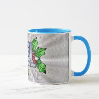 ステンドグラス- Noelの休日のコレクション マグカップ