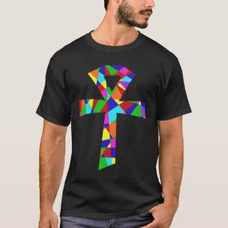 ステンドグラスAnkh Tシャツ