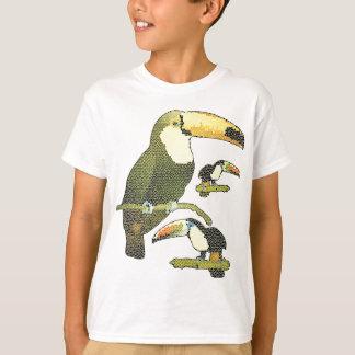 ステンドグラスToucan Tシャツ