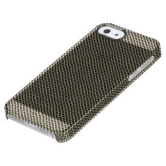ステンレス鋼の金網パターン クリア iPhone SE/5/5sケース