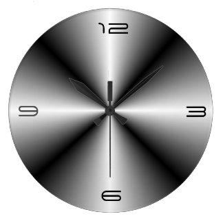 ステンレス鋼のLook>Wallの最小主義の時計 ラージ壁時計