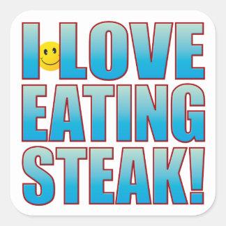 ステーキの生命Bを食べて下さい スクエアシール