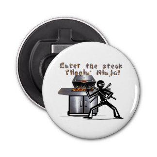 ステーキのFlippinの忍者を参加させて下さい 栓抜き