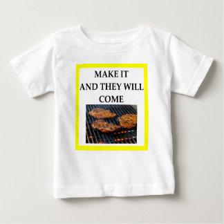 ステーキ ベビーTシャツ