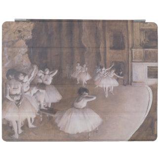 ステージのエドガー・ドガ のバレエのリハーサル、1874年 iPadスマートカバー