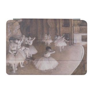 ステージのエドガー・ドガ のバレエのリハーサル、1874年 iPad MINIカバー