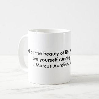 ストア哲学者のマグ コーヒーマグカップ