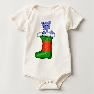 ストッキングの子猫 ベビーボディスーツ