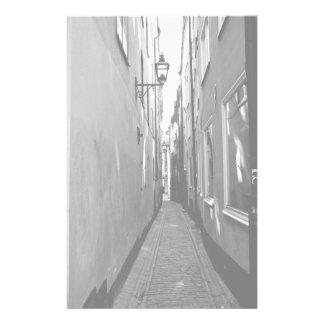 ストックホルムの狭い通り 便箋