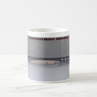 ストックホルムのTraneberg橋 コーヒーマグカップ