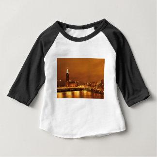 ストックホルム市役所、スウェーデン ベビーTシャツ